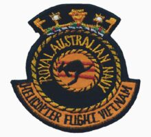 Australian Navy Helicopter unit patch (Vietnam) by Walter Colvin