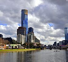 Melbourne & The Yarra by Kevin Cotterell