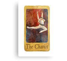 Ballet Tarot Cards: The Chariot Metal Print
