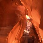 Arches in Antilope slot canyon by loiteke