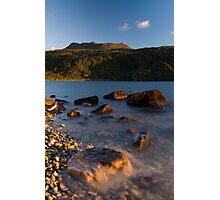Mt Tarawera, North Island, New Zealand. Photographic Print