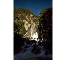Waterfalls, Rainbows, and Stars Photographic Print