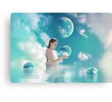 Gaia's Torment Canvas Print