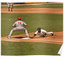 Pickoff Move to 1st Base Poster