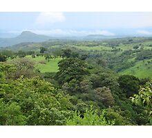a vast Nicaragua landscape Photographic Print