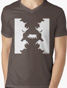 ClassicRhino Mens V-Neck T-Shirt