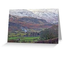 Wintry Greeting Card