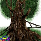 high tree by PieterDC