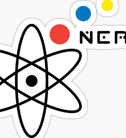 Nerd ll t shirt Sticker