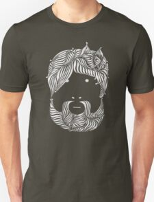 Furry Friend (white ink edition) T-Shirt