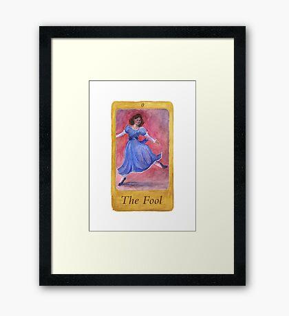 Ballet Tarot Cards: The Fool Framed Print
