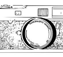 Vintage Photo Camera by Indrek Mändmets