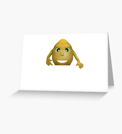 lemon card for text Greeting Card
