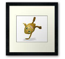 skip lemon all ok Framed Print