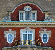 Westbury House Windows | Old Westbury, New York  by © Sophie W. Smith