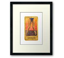 Ballet Tarot Cards: Strength Framed Print