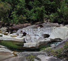 Babinda Creek Boulders by Andrew McNeil
