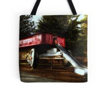 (Not so) Little Red Wagon Tote Bag