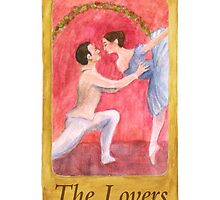Ballet Tarot Cards: The Lovers by Julia Tyler