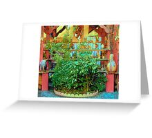Pottery Stall Greeting Card