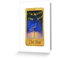 Ballet Tarot Cards: Star Greeting Card