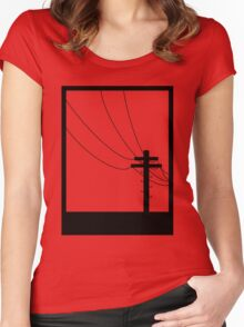 Black Box Women's Fitted Scoop T-Shirt