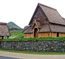 Stave Church, Heimaey by Graeme  Hyde