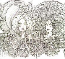 Valerie- Guadalupe & Kali by metaroselyn