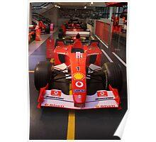 Set.. Ready.. Go! Formula 1 Ferrari Cars. Wroooooom.... Poster
