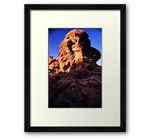 Valley of Fire Monolith 2 Framed Print