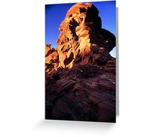 Valley of Fire Monolith 2 Greeting Card