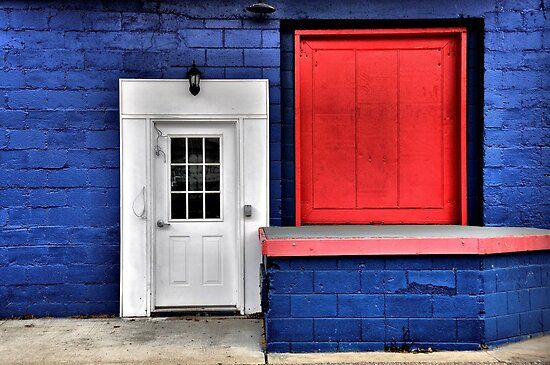 Red White and Blue by Kimcalvert