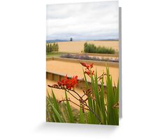 Oregon Winery Greeting Card
