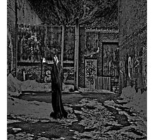 Back Alley Judge Photographic Print