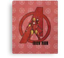 Avengers - Iron Man Print Canvas Print