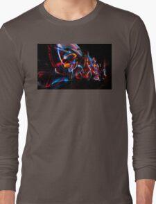 Dark Light Lane Long Sleeve T-Shirt