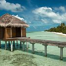 Over water spa bungalow in Diva Maldives by sharaff