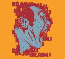 BBRRAAIINNSS!! by matthewdunnart