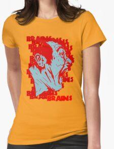 BBRRAAIINNSS!! Womens Fitted T-Shirt