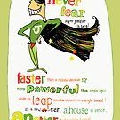 Super Justifier! by Shelley Knoll-Miller