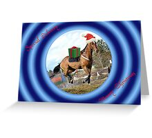 SPECIAL DELIVERY HORSE LOVER CHRISTMAS CARD- MERRY CHRISTMAS Greeting Card