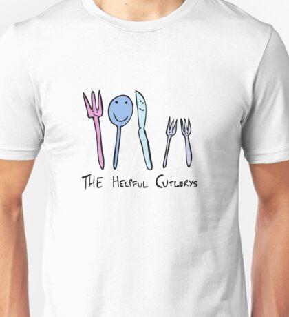 The Helpful Cutlerys Unisex T-Shirt