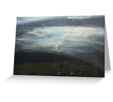 Inversion layer Greeting Card