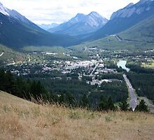 Banff Townsite by Alyce Taylor
