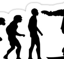 Snowboard Evolution Sticker