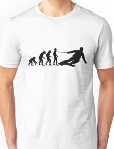 Skier Evolution Unisex T-Shirt