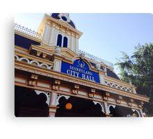 Disneyland City Hall Metal Print