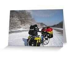 January: Snowstorm-Carbondale, IL Greeting Card
