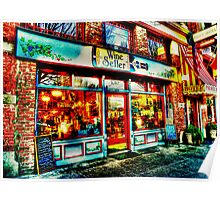 Wine Seller ~ Port Townsend, WA ~ HDR Series Poster