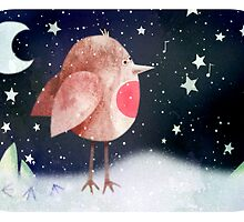 Have a chirpy Christmas by Hannah Chapman